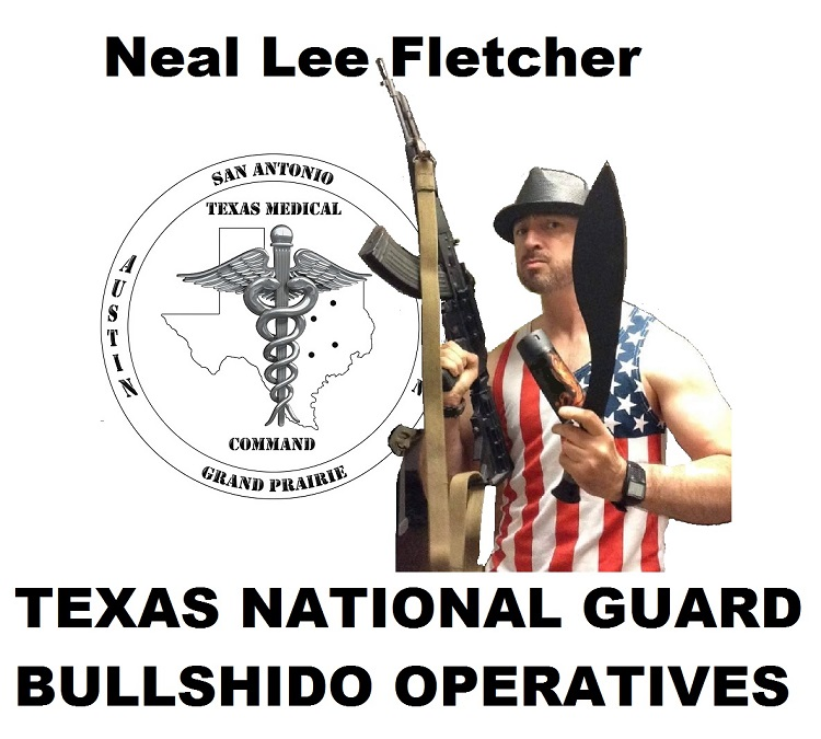Texas National Guard medical soldier Neal Lee Fletcher scours the civilian martial arts businesses and instructors as a cyber-troll for self-appointed vigilantes.